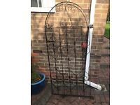 For Sale Iron Gate for the Garden as shown BUYER Collects from TS15