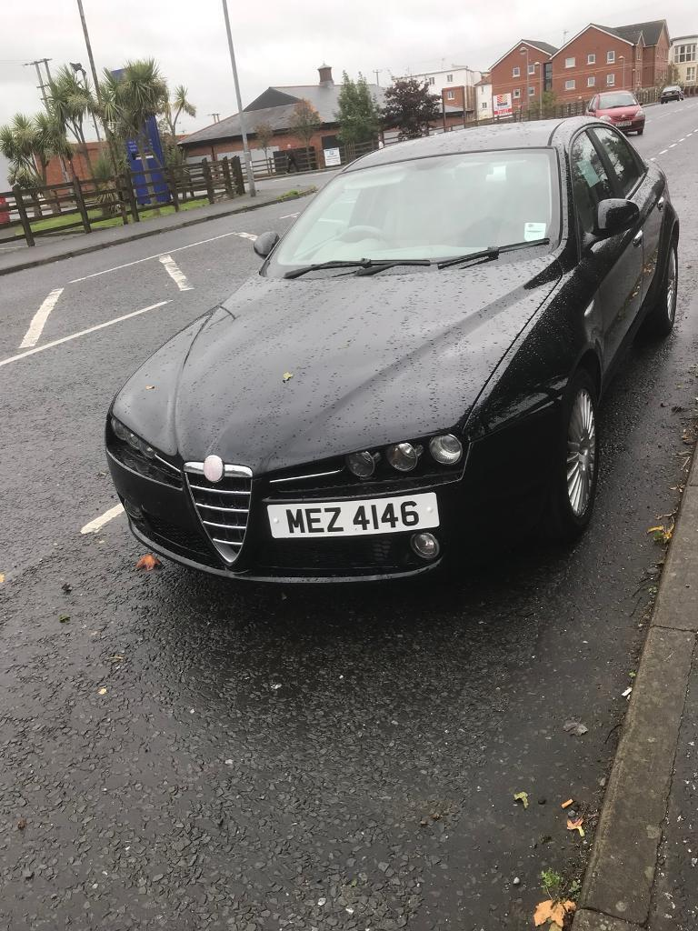 Alfa romeo 159 1.9 p re advertising due to dreamer