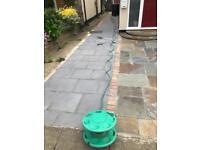 Garden watering hose pipe