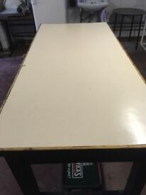Old style Farmhouse kitchen table, ideal for restoring for a big kitchen
