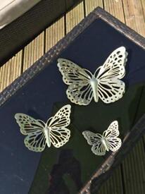 Decorative wall butterflies