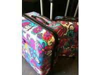 Luggage set mint condition very expensive locks and wheels BARGAIN