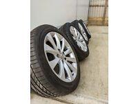 2011-2018 Vauxhall Astra GTC 18 Inch Alloy Wheels and Bridgestone 245/45R18 Tyres