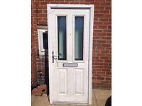 composite front door wit 1 key £55