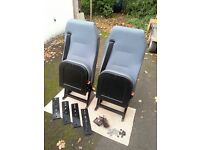 Scot Seats for sale. For use in campervan or minibus. Xlnt condition.