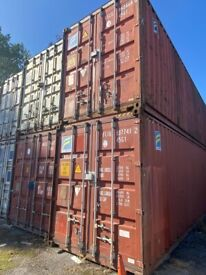 40ft Containers for rent for Self Storage