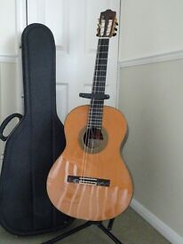 Alhambra 9P Classical Guitar for sale including stand and case