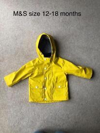 Boys coats and gilets