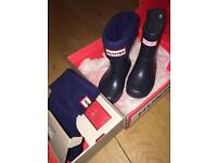 SIZE 6 YOUNGER HUNTER WELLINGTON BOOTS