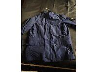 Blue stone island jacket