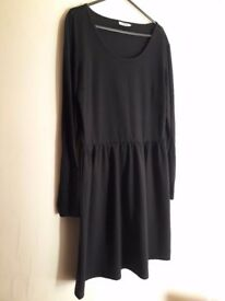 2 Mini Dresses - Black dress - Gold dress