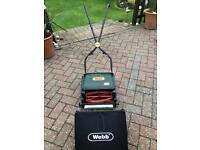 Webb 12 inch Push Rear Roller Lawnmower
