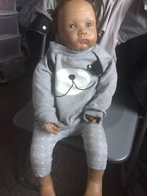 Ashton drake reborn todddler doll. Excellent condition
