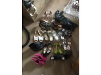 Size six shoes , £10 the lot