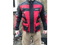 Gents RST motorcycle jacket - red