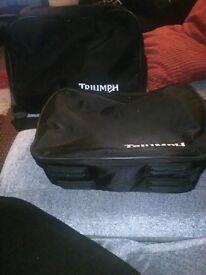 Triumph pannier inside bags