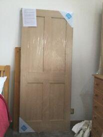 Brand New Oak door