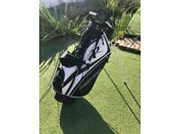 Wilson Deep Red Tour Golf Stand Bag