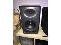 JBL LSR4326 Powered Studio Monitors with remote & room mic