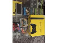 Ps2 Black slim line console & games