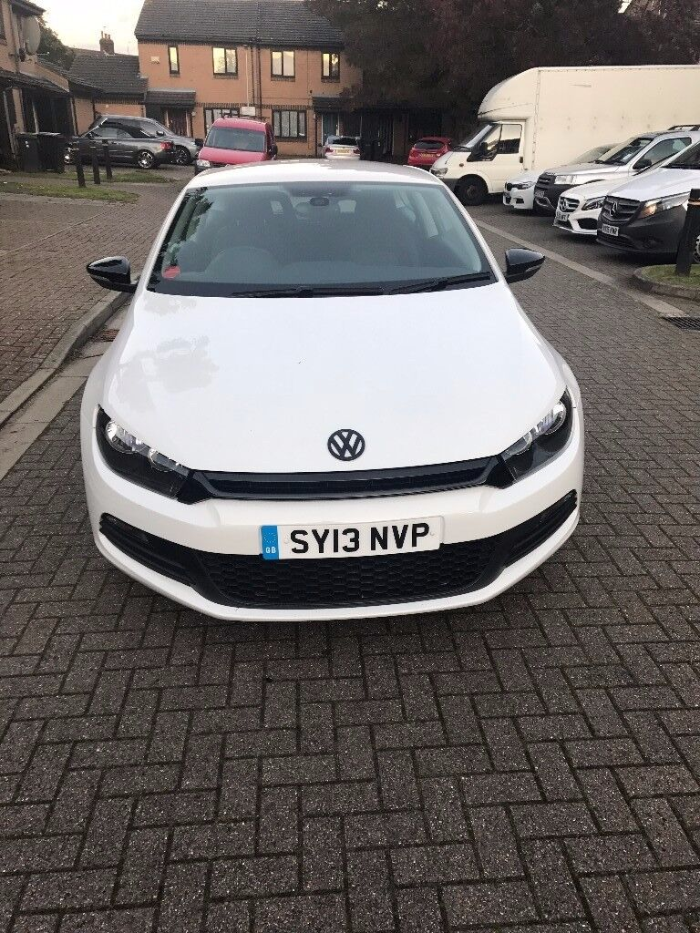 VW Candy White Scirocco - Low Mileage - Parking Sensors