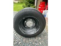 Trailer Wheel and tyre brand new