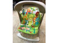 Baby swing - fisherprice jungle - £25.00