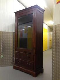 Lombok Solid Teak Display unit Cabinet chest armoire drawers - Laura Ashley John Lewis habitat loaf