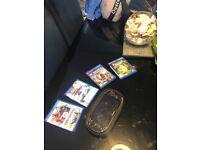 PS Vita and 4 games