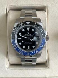 GMT Master II watch (Batman)