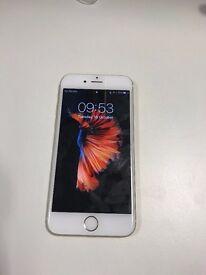 iPhone 6s white 128 GB unlocked