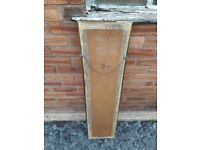 Tall Rectangle Gold Colour Solid Pine Living Room Bed Room Mirror