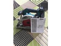 Makita 18v circular saw and battery