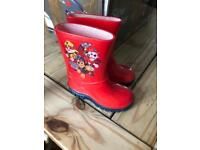 Size 5 toddler wellies