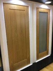 Massive sale on pre finished shaker oak interior doors