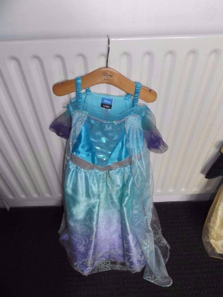 Disney halloween fancy dress Elsa frozen princess