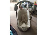 **EXCELLENT CONDITION BABY SWINGER - MAMAS&PAPAS**