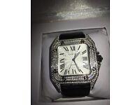 High quality brand new AP Audemars Piguet Hublot Cartier Franck Muller watch diamond automatic iced