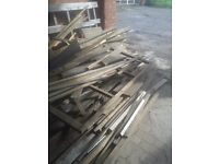 Wood – free to collector. Wood for burning.