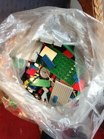 Huge bag of lego