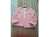 River island boucle jacket