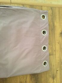 Next mauve fully lined curtains