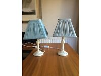 2 Laura Ashley Lamps £15 (£12 without lampshades)