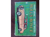 Antique remote control Rolls Royce