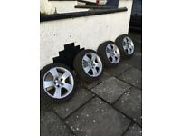 Vw alloys 5x100 16's £120