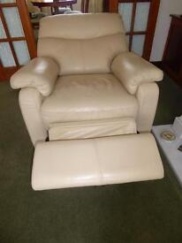 Barker & Stonehouse Chair (electric recliner) 2 seater sofa (one manual one ordinary)