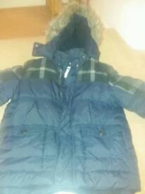 Boys john rocha winter coat