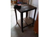 Engineers Metalworking Bench with Vice