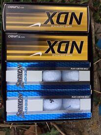 Brand new dozen golf balls ... unused