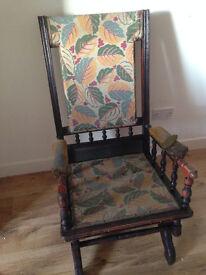 American Victorian Rocking Chair